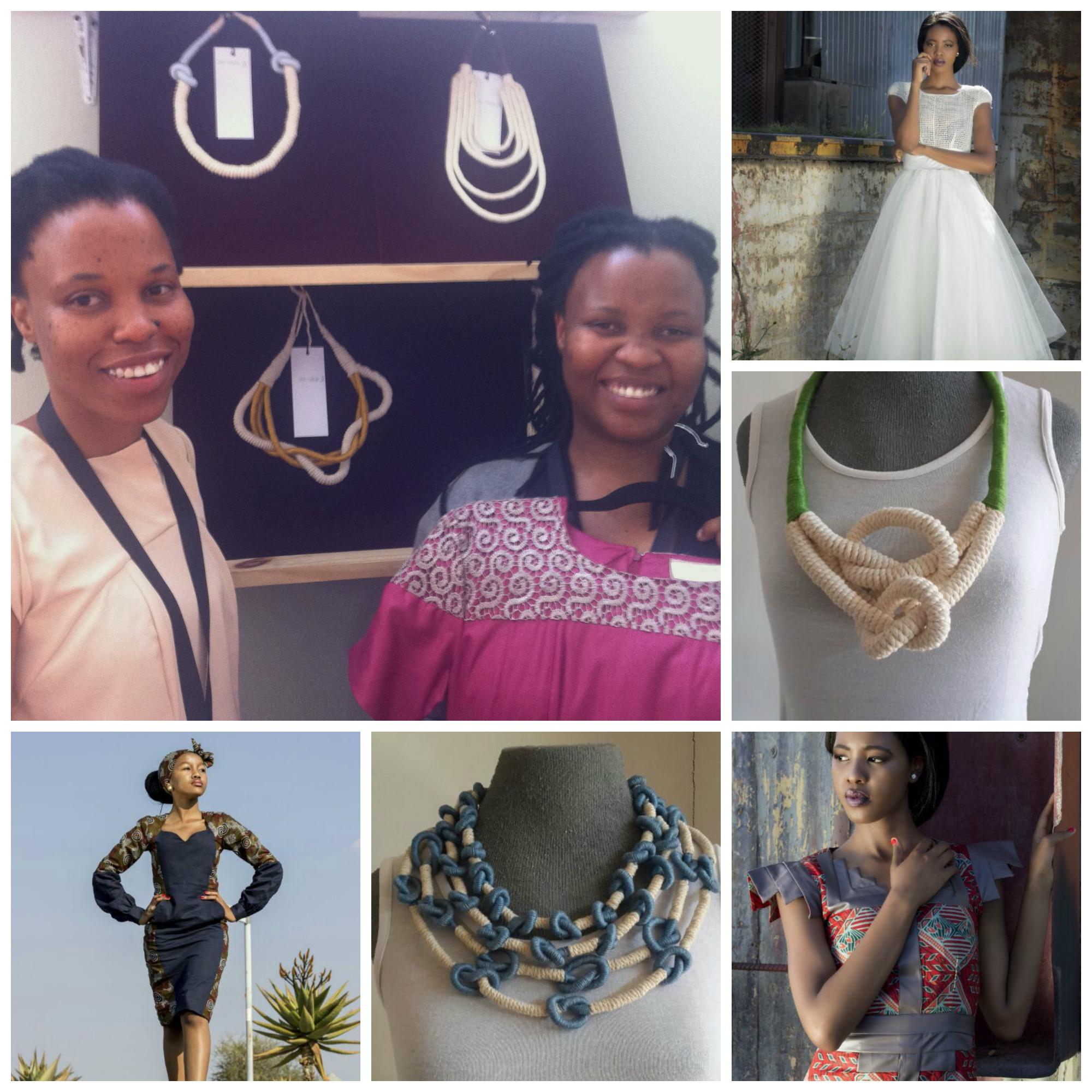 Jeanette Phasha and sister Charlotte , the creative duo behindBaroka Fashions