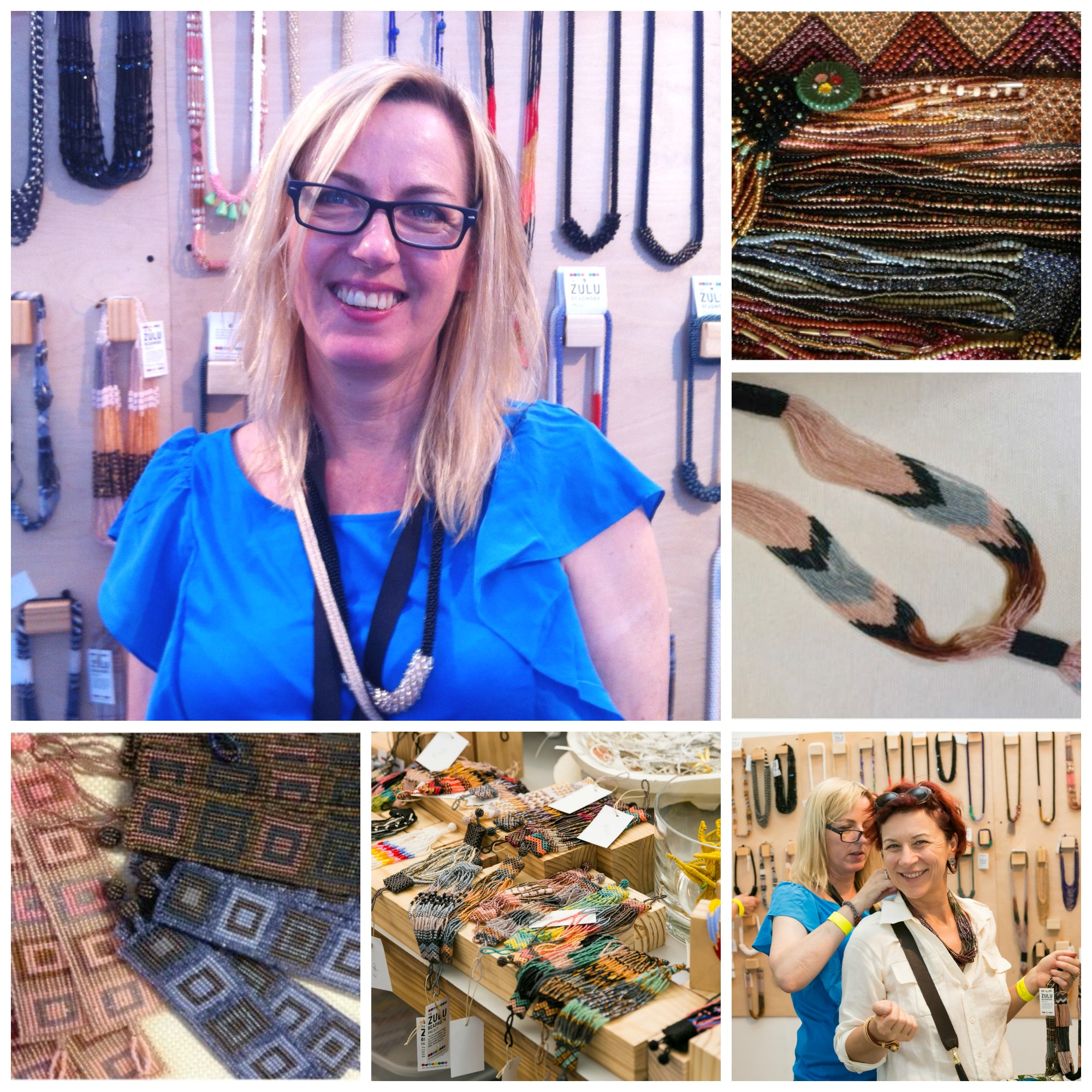 Janet Shaw , founder of the Zulu Beadwork Project