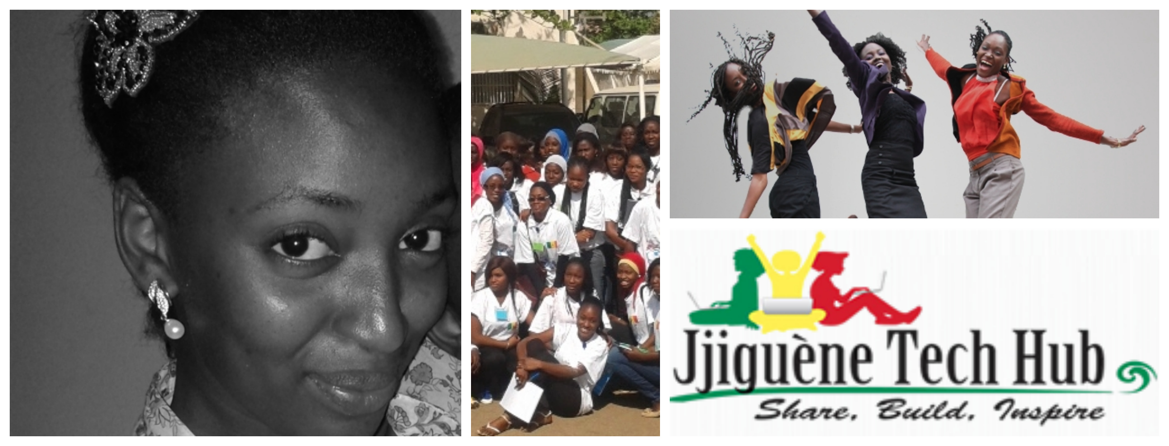 Binta Coudy Dé ,  vice president & co-founder of Jjiguene Tech Hub