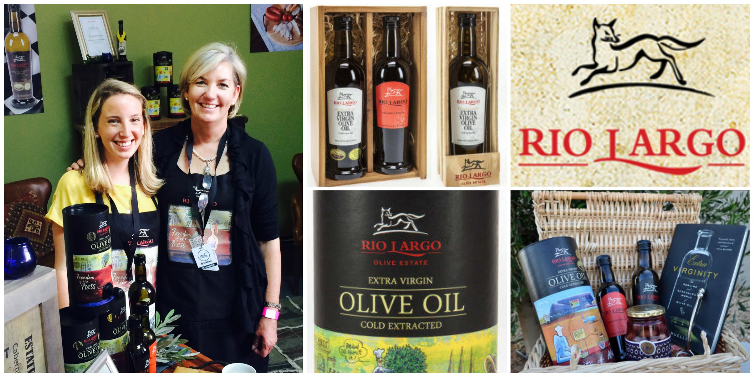 Brenda Wilkinson  and her daughter,the amazing women behind Rio Largo olive oil company