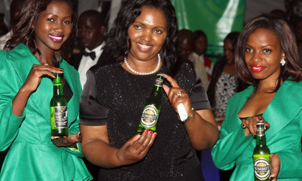 Tabitha Karanja , founder and ceo of Keroche Breweries, Kenya