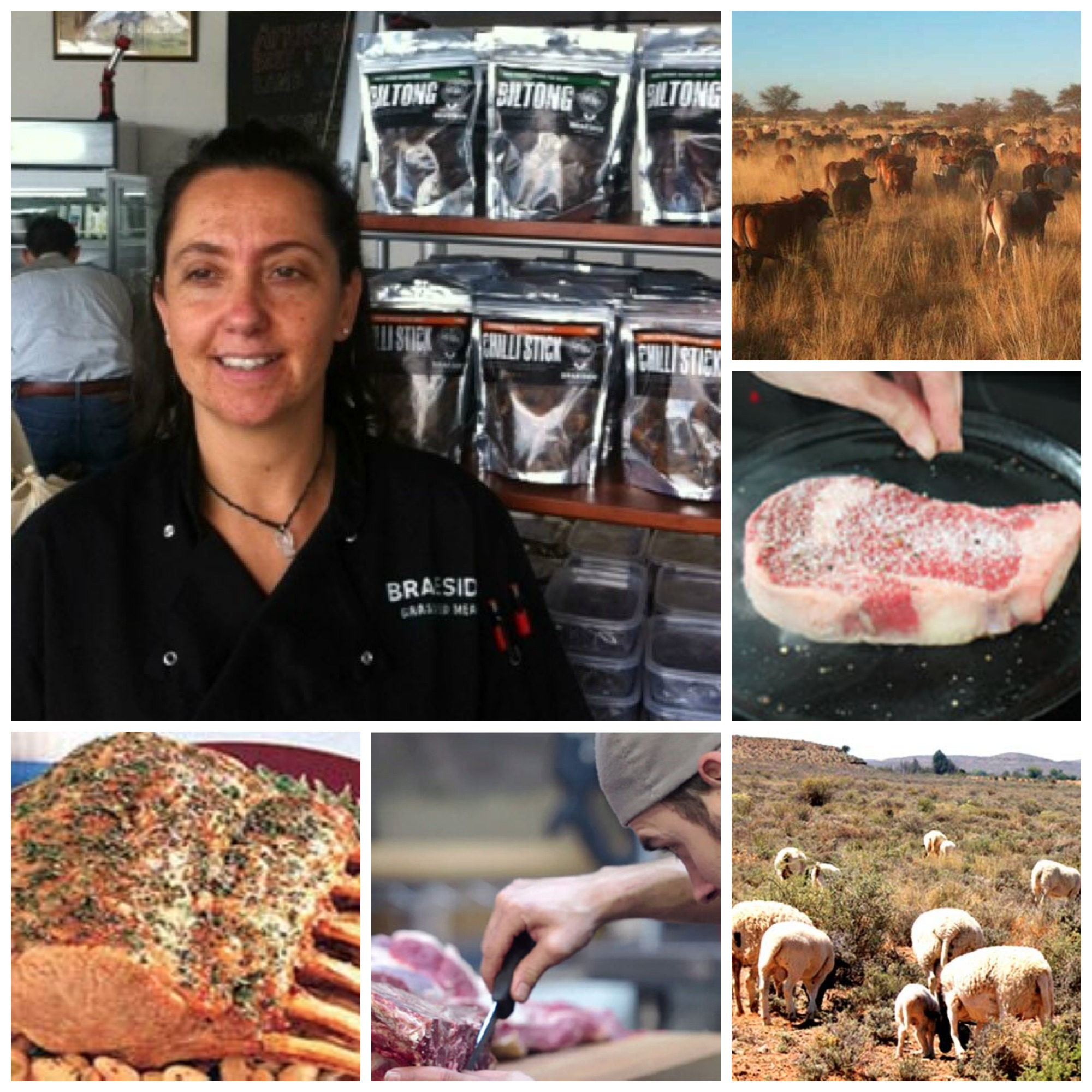 Caroline McCann , owner of Braeside Butchery in Parkhurst, Johannesburg