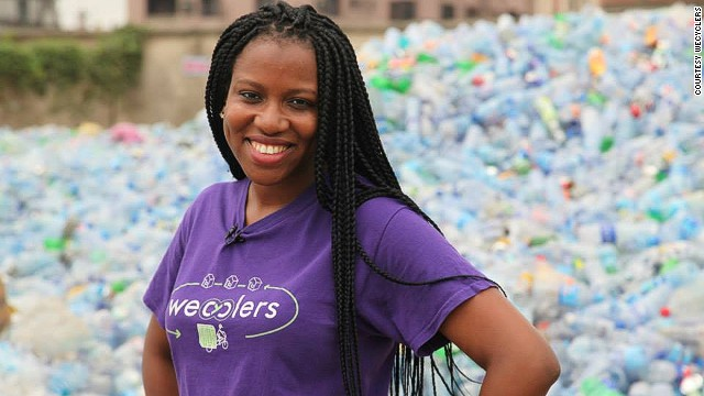 Bilikiss Adebiyi-Abiola , founder and ceo of WeCyclers