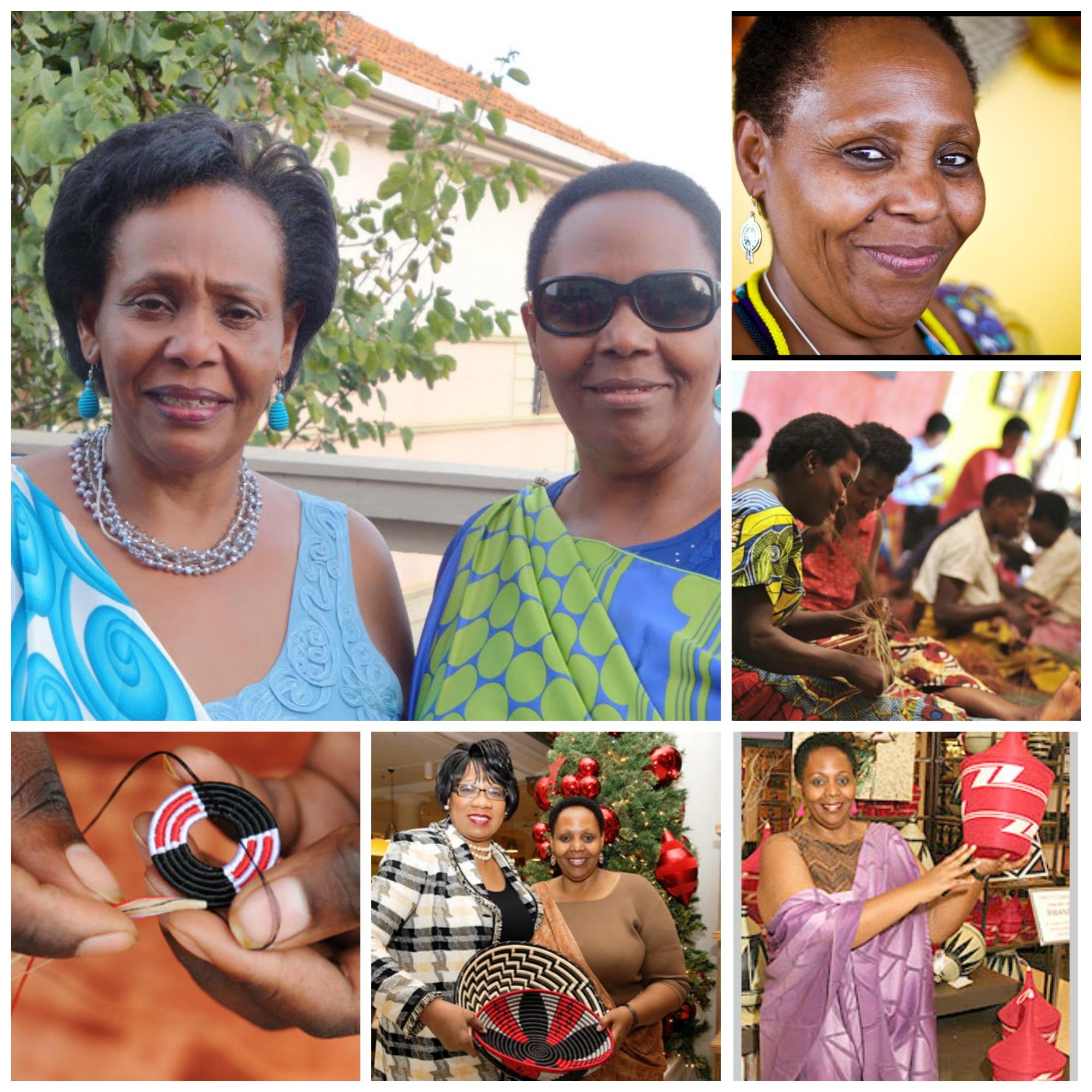 Janet Nkubanaand JoyNdungutse , founders of Gahaya Links, Rwanda
