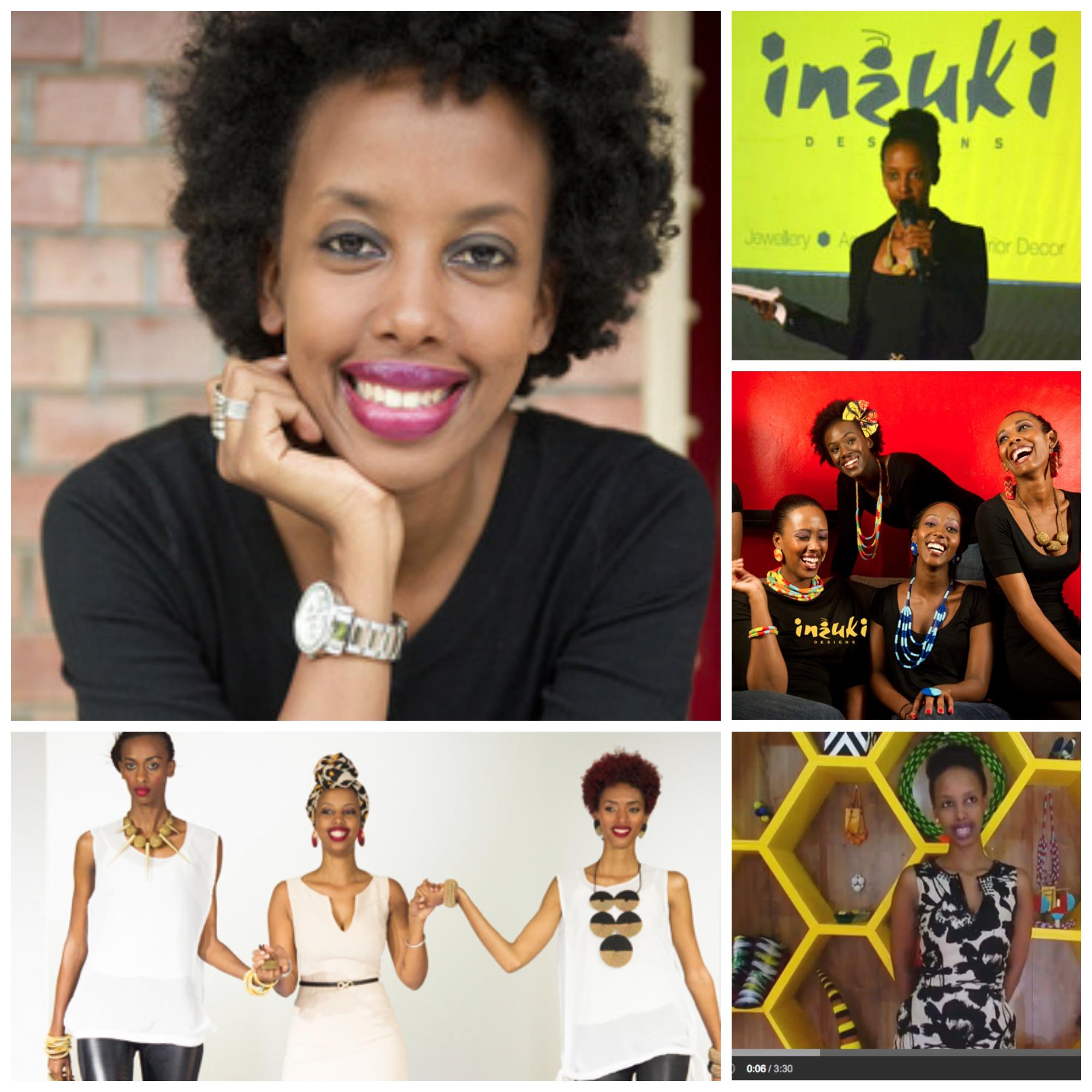 Teta Isibo , founder of Inzuki Designs, Rwanda