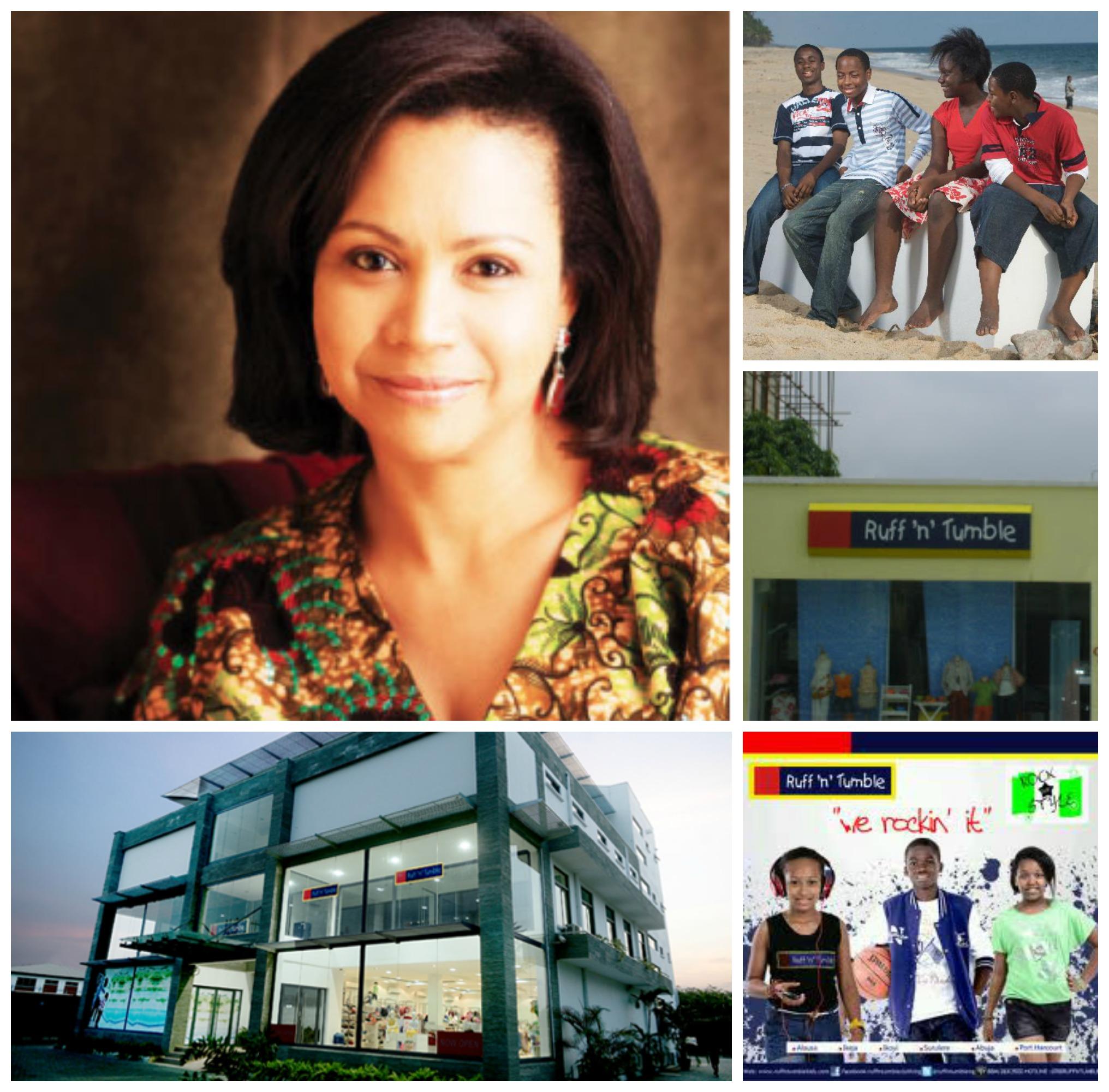 Adenike Ogunlesi , founder and CEO of Ruff 'n Tumble, Nigeria