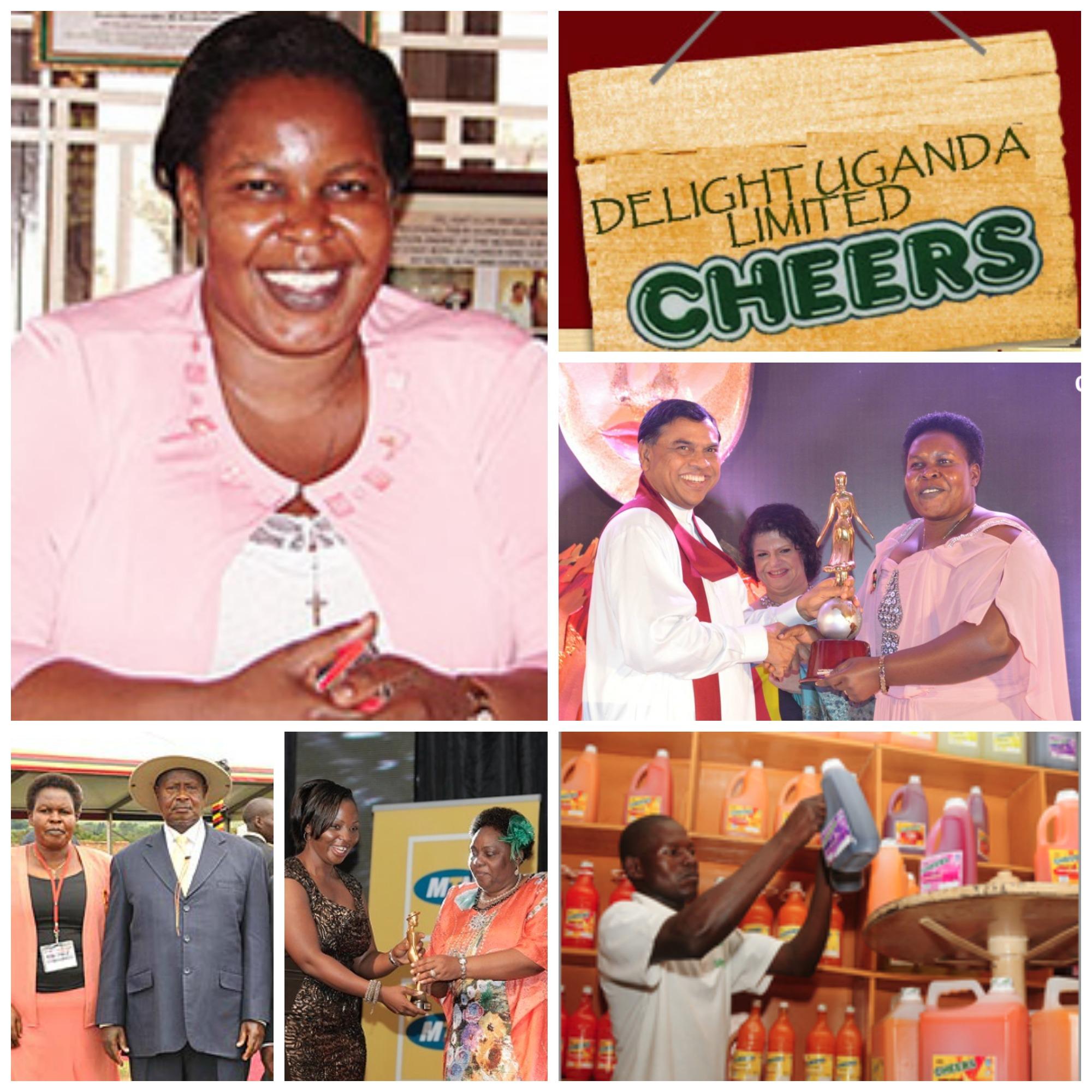 Julian 'Mama Cheers' Omalla , founder of Delight Limited, Uganda