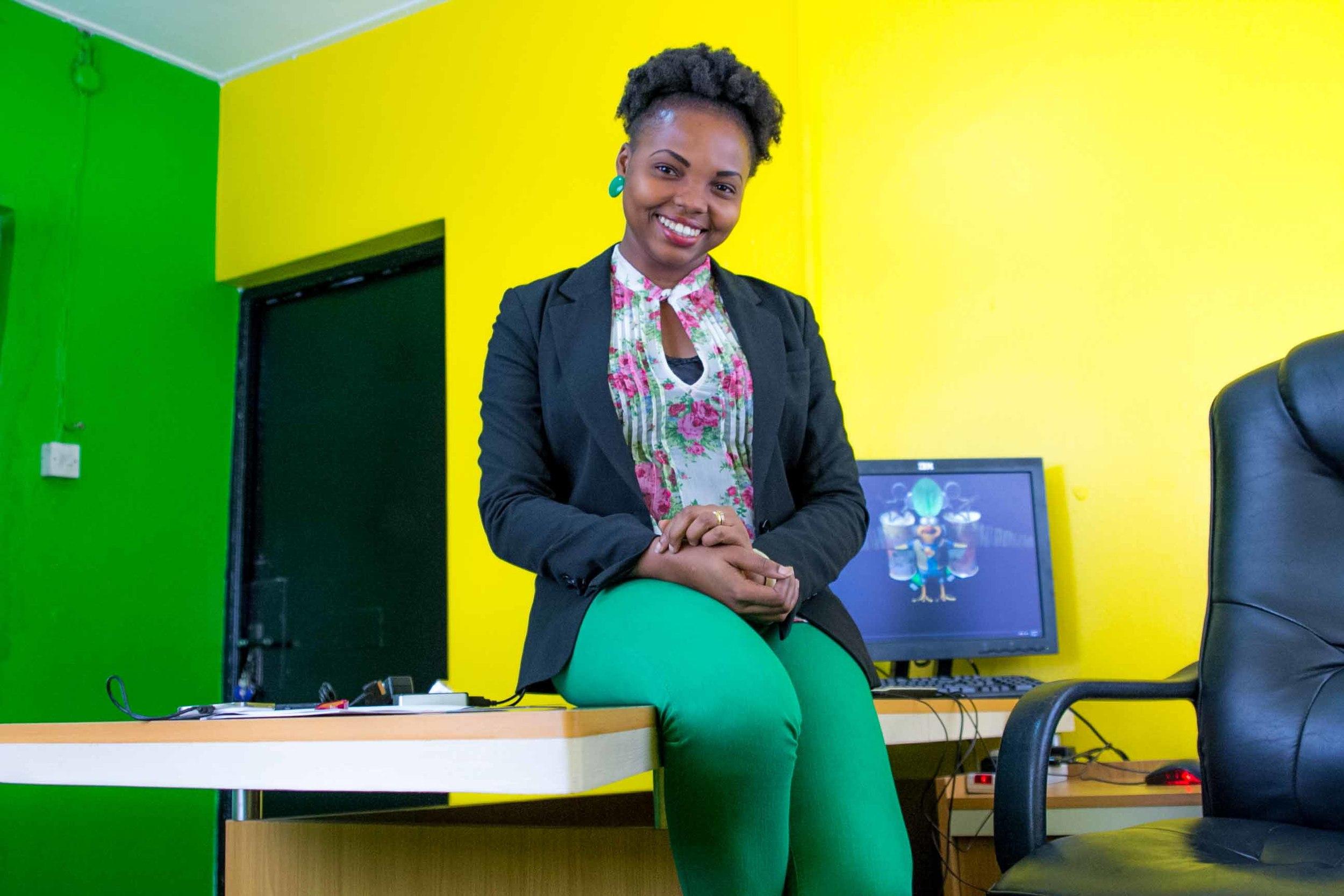 Damilola Solesi , founder of  SMIDS Animation Studios , Nigeria