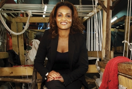 Bethlehem Tilahun Alemu , founder of soleRebels, Ethiopia