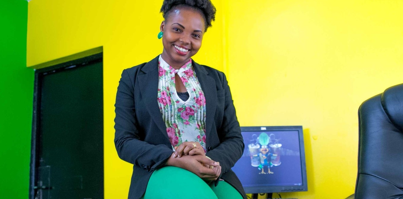 Damilola Solesi , founder of Smids Animation Studios, Nigeria