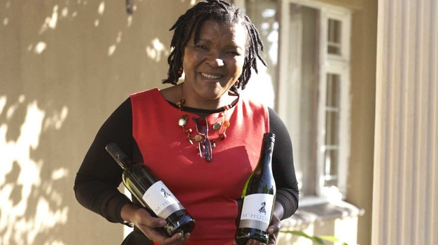 Malmsey Rangaka, co-founder and CEO of  M'hudi Wines
