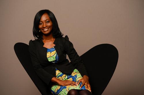 Anne Amuzu ,  co-founder ofNandimobile Ltd., Ghana