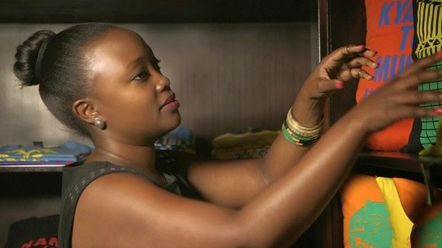 Olga Mugyenyi, co-founder of  Definition Africa , Uganda