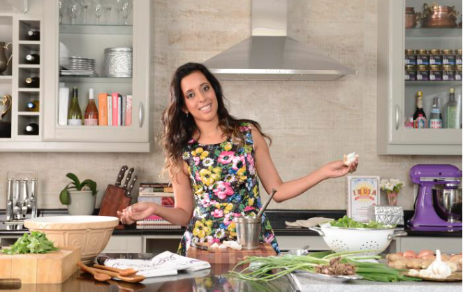 Yudhika Sujanani, founder of HoliCow Deli andinspiring South African foodie entrepreneur