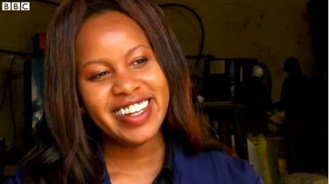 Lorna Rutto , founder of EcoPost, Kenya