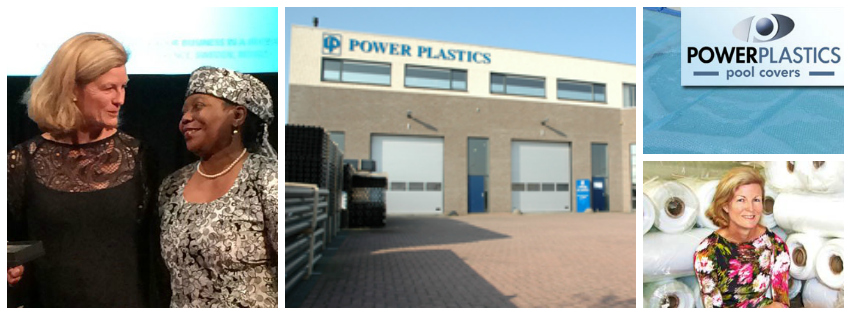 Caryn Formby , founder of  Power Plastics , South Africa