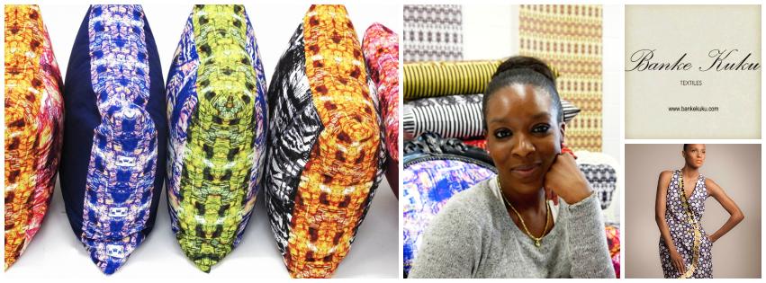Banke Kuku , founder of  Banke Kuke Textiles