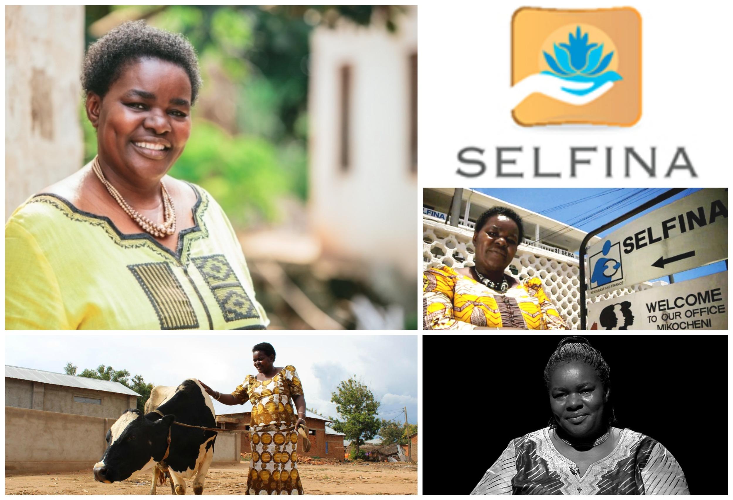 Victoria Kisyombe , founder of Sero Lease and Finance (SELFINA) , Tanzania