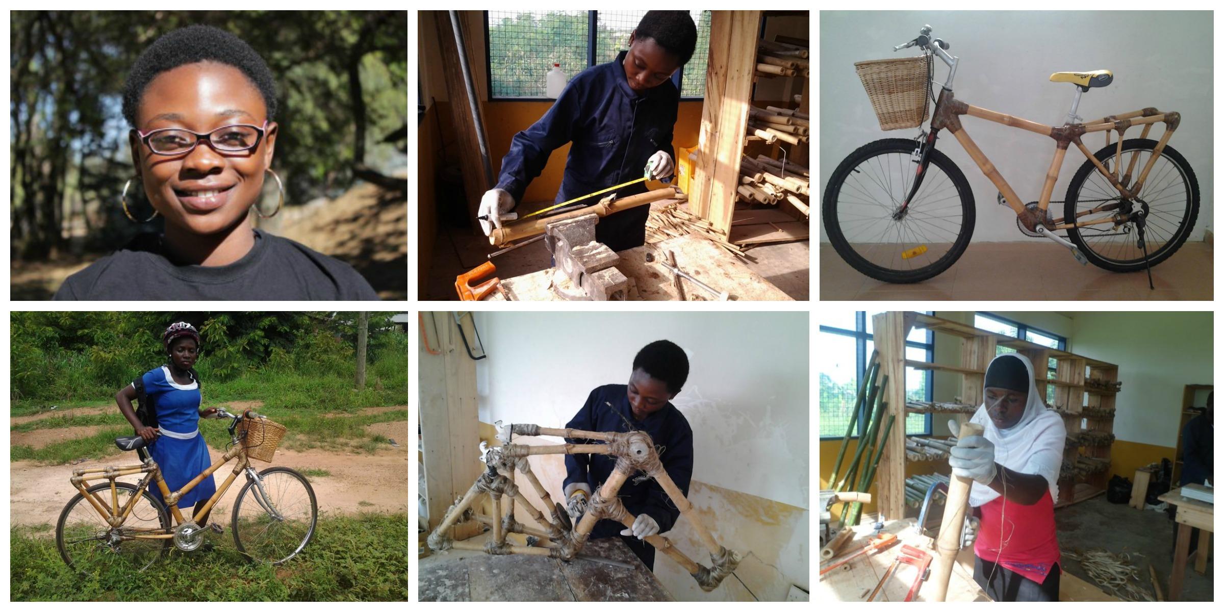 Winnifred Selby , co-founder of Ghana Bamboo Bikes