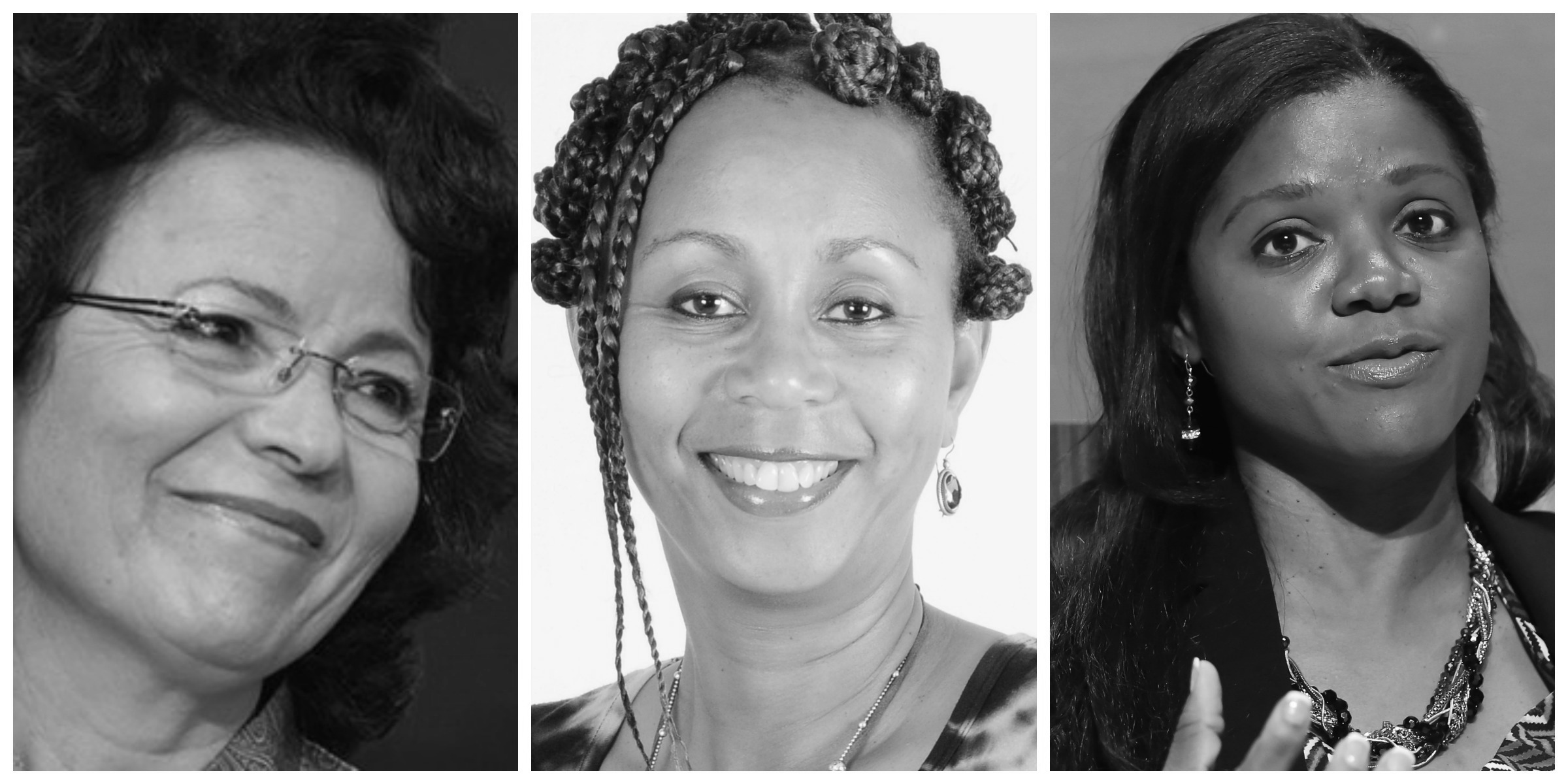 L-R: Essma Ben Hamida,Anne Githuku-Shongwe,Njideka Harry
