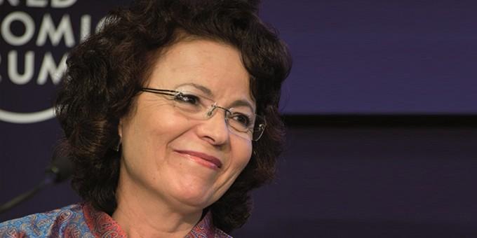 Essma Ben Hamida , co-founder of  Enda Inter-Arabe , Tunisia