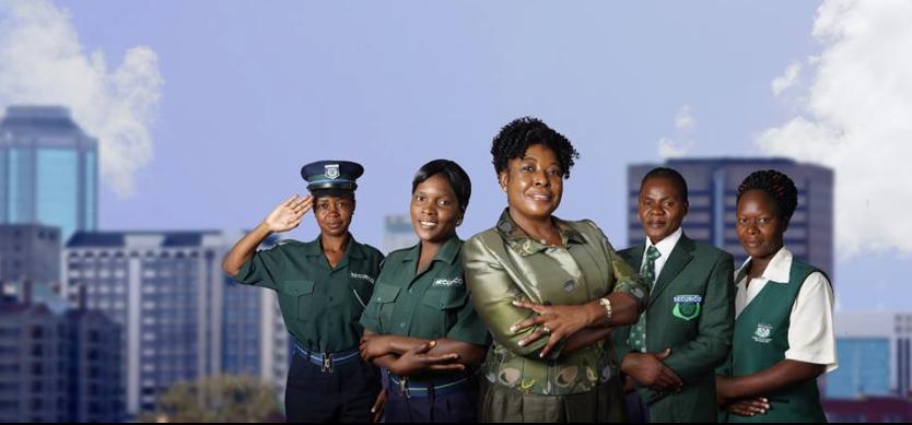 Divine Ndhlukula ,founder of SECURICO Security Services, Zimbabwe