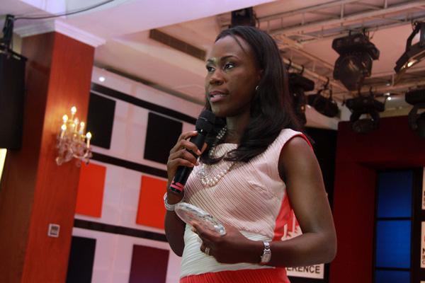 Tara Fela-Durotoye  , founder of the  House of Tara International , Nigeria