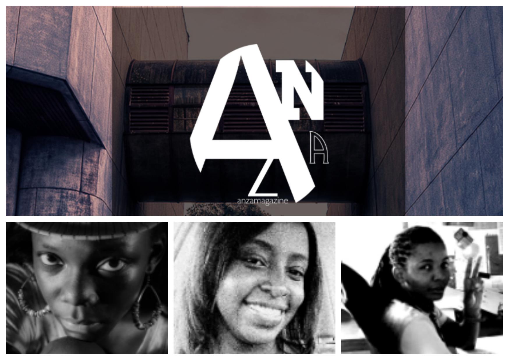 Comfort Badaru,Comfort Mosha,Anitah Hakika , founders of ANZA Magazine , Tanzania