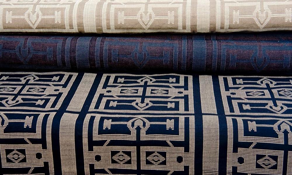 Aissa Dione,renowned Senegalese painterand textile designer and revivalist of ancient weaving craftsmanship