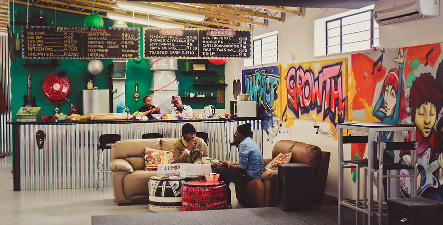 HubSpace  , in Khayelitsha, Cape Town