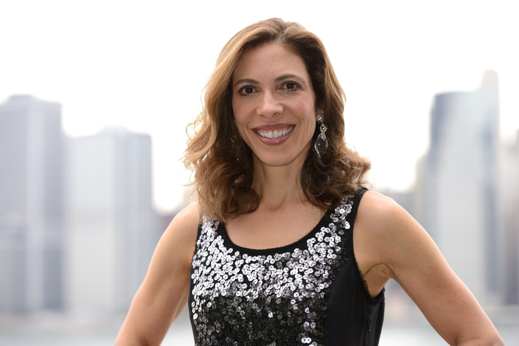 Linda Rottenberg  , CEO and co-founder of  Endeavor , author of 'Crazy Is a Compliment'