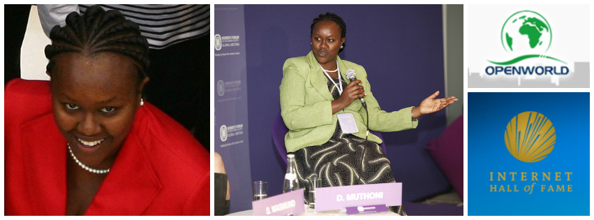Dorcas Muthoni, founder & CEO of Open World, Kenya