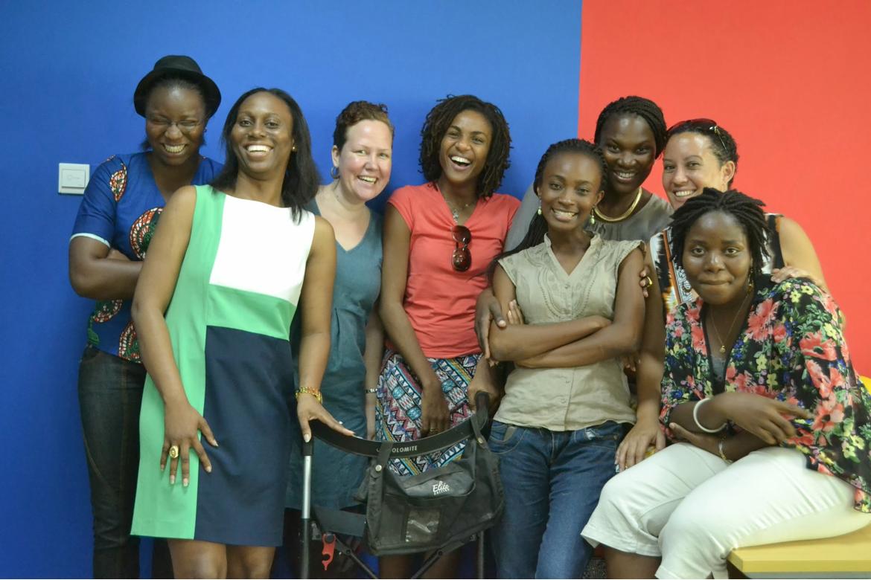 Members ofWomen in Tech Africa