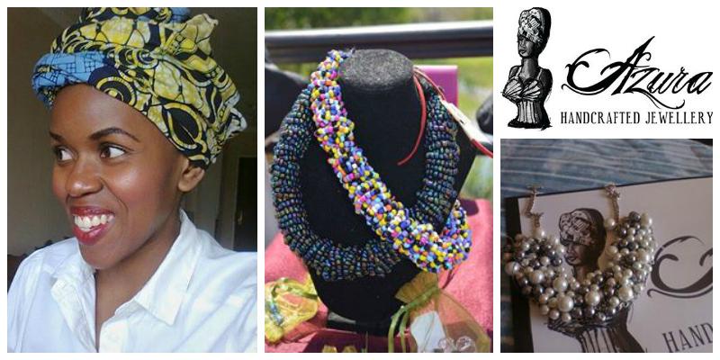 Sheila Mokgoadi , founder ofAzura Luxury Handcrafts