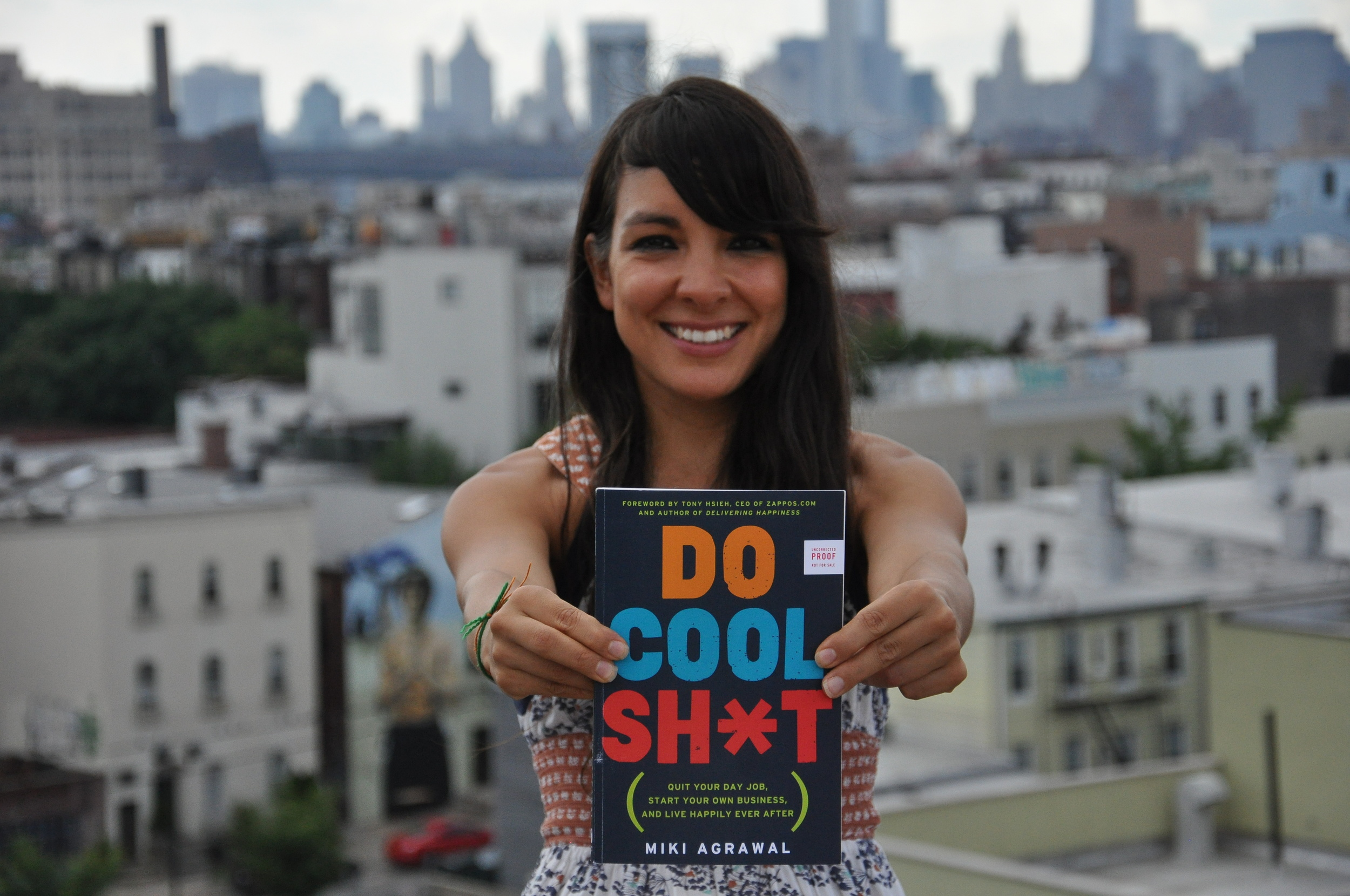 Miki Agrawal ,author, serial entrepreneur, angel investor, speaker and tv personality