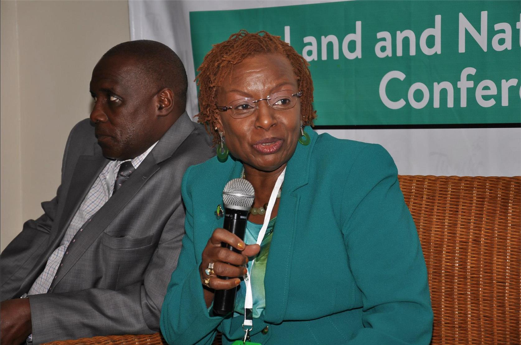 Dr. Jennifer Riria , founder and  Group CEO of Kenya Women Holding