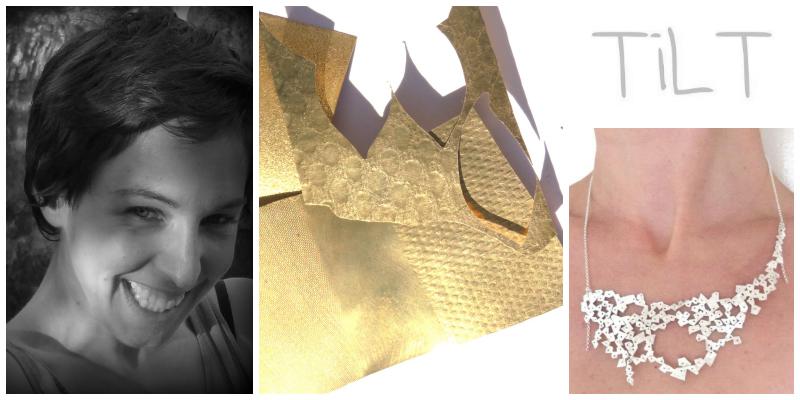 Claire Nouvel , founder and designer,  TiLT Handmade Jewels