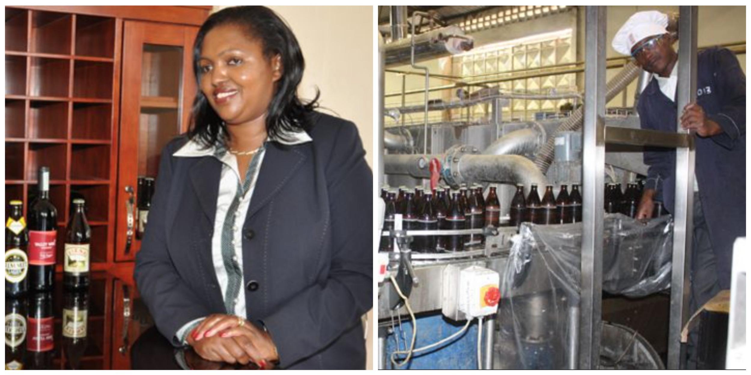 Tabitha Karanja , founder & CEO of Keroche Breweries (Kenya)