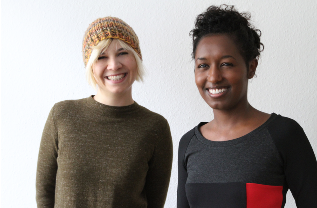 Adiam Emnay & Anne-Sophie Wass  , founders of   DUBARUBA