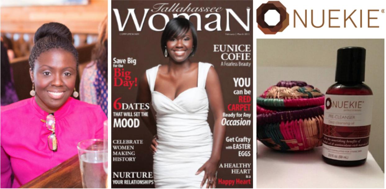 Eunice Cofie , founder and CEO of  Nuekie , Ghana