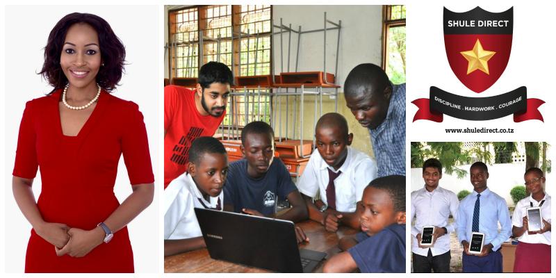 Faraja Nyalandu , founder Shule Direct  (Tanzania)