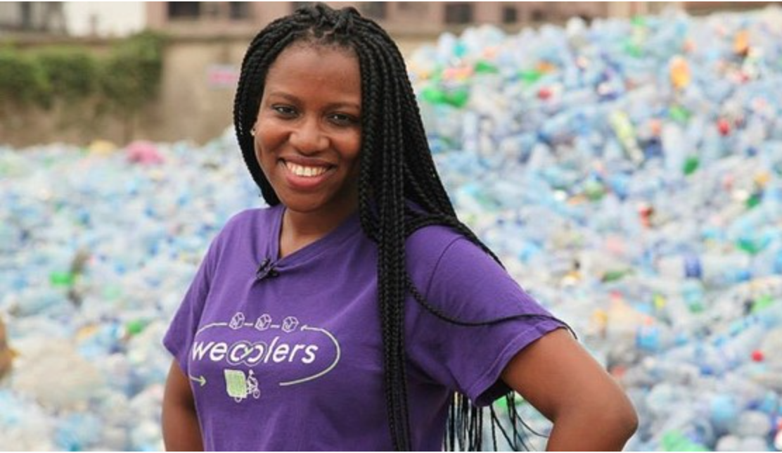 Bilikiss Adebiyi-Abiola , founder & CEO of  Wecyclers