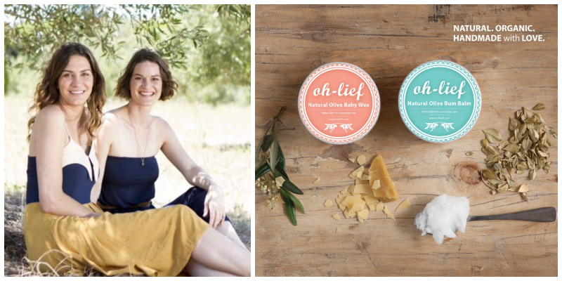 Louiza Rademan & Christine Buchanan , founders of Oh-Lief (South Africa)