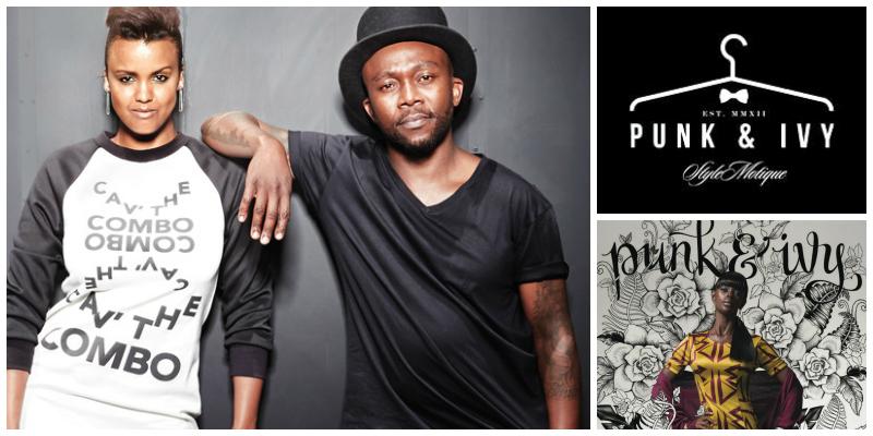 Bianca &Khaya Sibiya , co-founders of  Punk & Ivy  (South Africa)