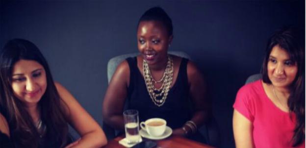 Nahida & Nadia Bhegani and Olga Mugyenyi