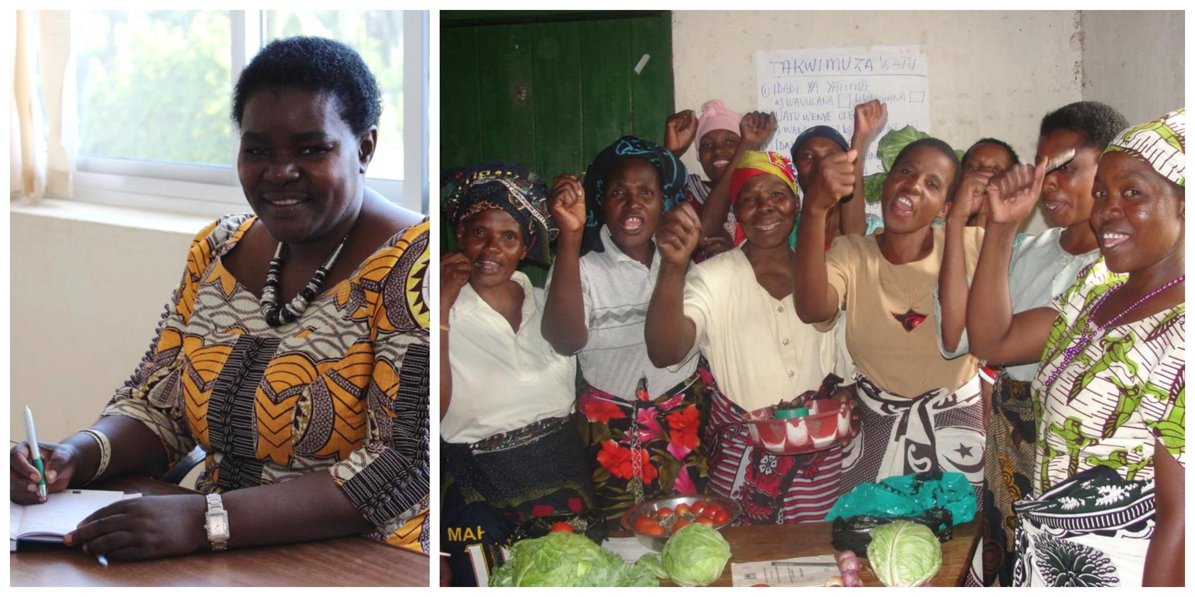 Dr. Victoria Kisyombe , founder of SELFINA (Tanzania)