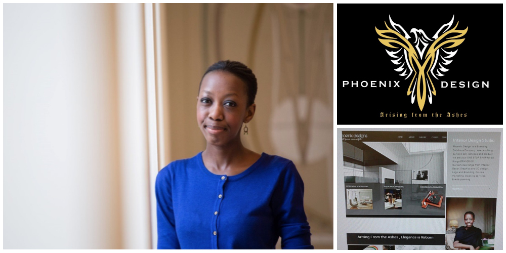 Clare Kagimu , founder of Phoenix Design (United Kingdom)