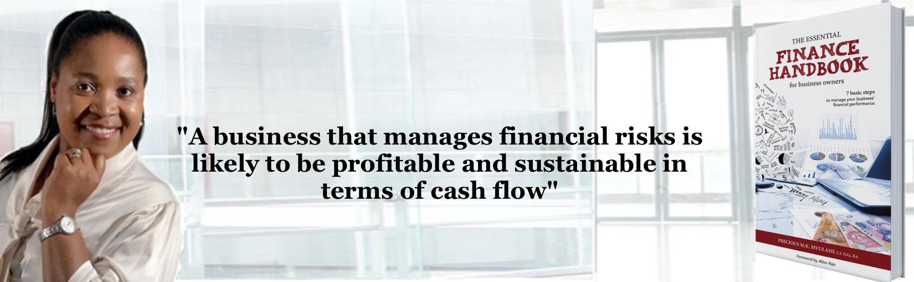 Precious MK Mvulane , author of The Essential Finance Handbook