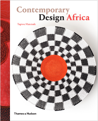 Tapiwa's first book;  Contemporary Design Africa  was published on 25 May 2015 by leading art book publishers Thames & Hudson, and profiles approximately 51 designers and makers working on the African continent and beyond.