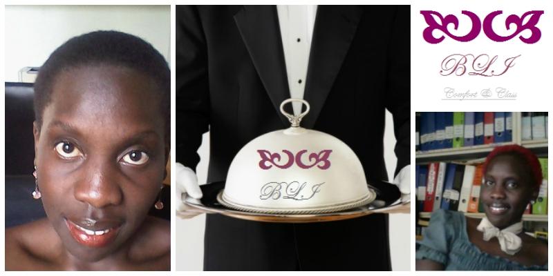Maria Auma , founder of  Blue Luxury Investments (Uganda)